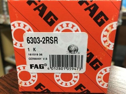 Подшипник 6303-2RS R FAG аналог 180303 размеры 17*47*14