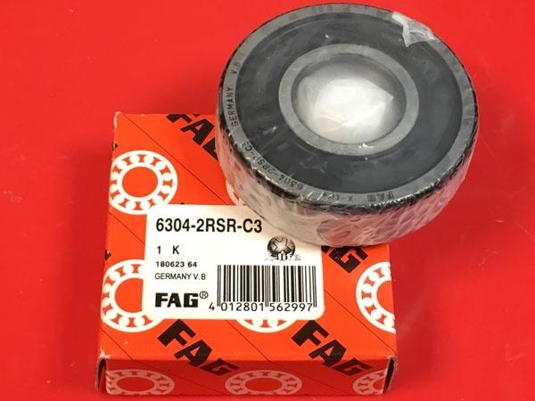 Подшипник 6304-2RS R C3 FAG аналог 180304 размеры 20x52x15