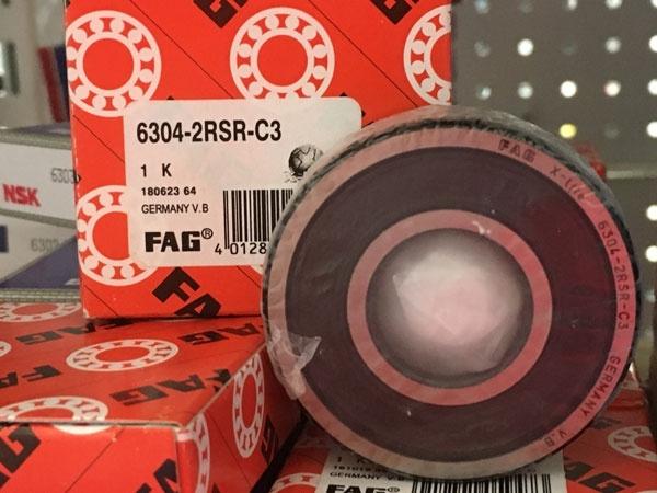 Подшипник 6304-2RS R C3 FAG аналог 180304 размеры 20*52*15