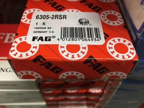 Подшипник 6305-2RS R FAG аналог 180305 размеры 25*62*17