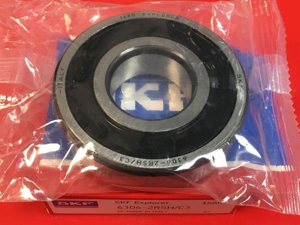 Подшипник 6306-2RS H С3 SKF аналог 180306 размеры 30x72x19