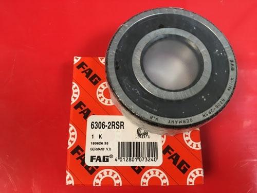 Подшипник 6306-2RS R FAG аналог 180306 размеры 30x72x19