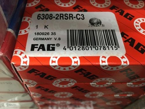 Подшипник 6308-2RS R C3 FAG аналог 180308 размеры 40*90*23