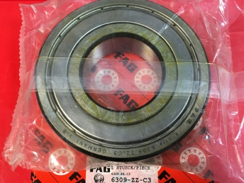 Подшипник 6309.2Z.C3 FAG размеры 45x100x25