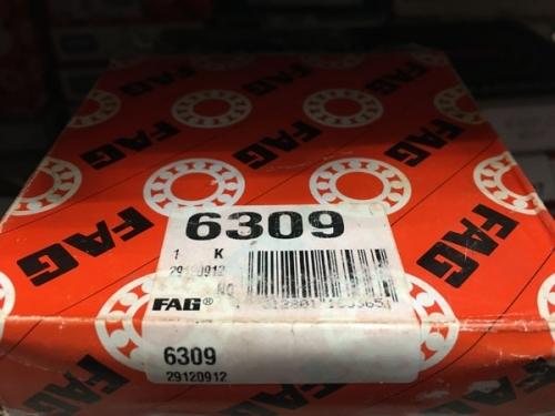 Подшипник 6309 FAG аналог 309 размеры 45*100*25