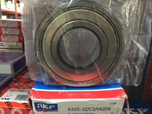 Подшипник 6310-2Z/C3/VA208 SKF размеры 50*110*27