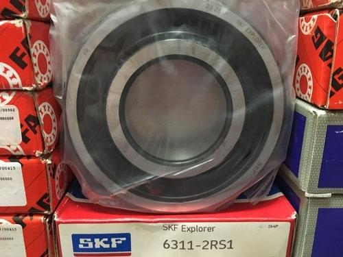 Подшипник 6311-2RS 1 SKF аналог 180311 размеры 55x120x29