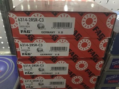 Подшипник 6314-2RS R C3 FAG аналог 180314 размеры 70*150*35 купить из наличия