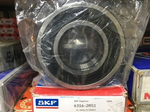 Подшипник 6316-2RS1 SKF аналог 180316 размеры 80*170*39