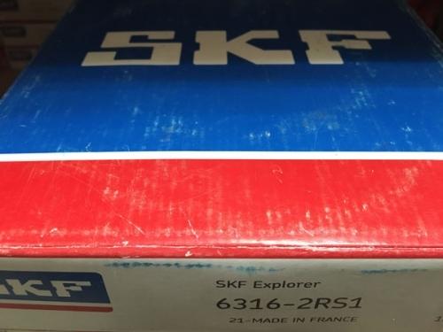 Подшипник 6316-2RS1 SKF аналог 180316 размеры 80х170х39