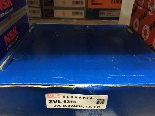 Подшипник 6316 ZVL аналог 316 размеры 80*170*39