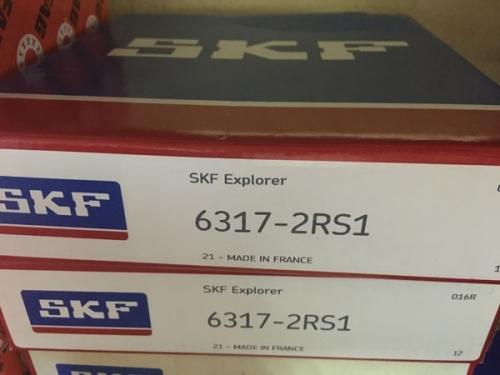 Подшипник 6317-2RS 1 SKF аналог 180317 размеры 85*180*41