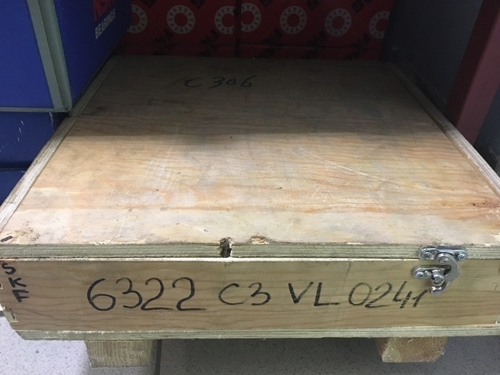 Подшипник 6322 С3 VL0241 SKF INSOCOAT® размеры 110x240x50 в наличии
