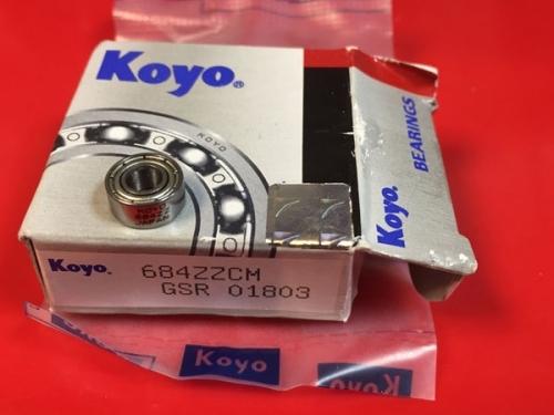 Подшипник 684 ZZ CM Koyo размеры 4x9x4
