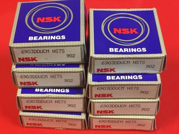 Подшипник 6903 DDU CM NSK аналог 1180903 (1000903-2RS, 61903-2RS) размеры 17х30х7