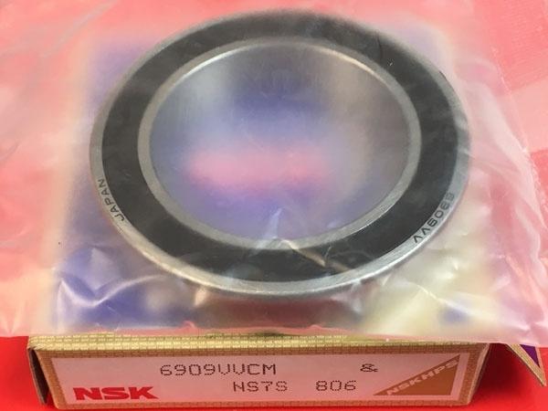 Подшипник 6909 VV CM NSK аналоги 1180909, 61909-2RS, 1000909-2RS размеры 45x68x12