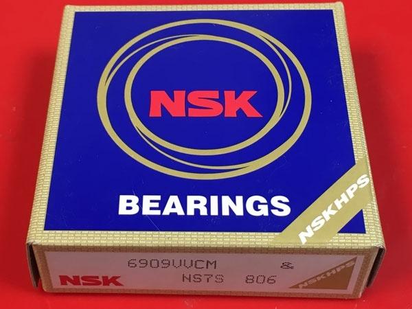 Подшипник 6909 VV CM NSK аналоги 1180909, 61909-2RS, 1000909-2RS размеры 45*68*12