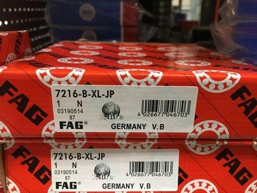 Подшипник 7216 В-XL-JP FAG аналог 66216 размеры 80*140*26