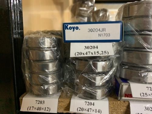 подшипник 30204 JR (20*47*15,25) KOYO