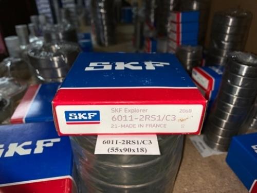 Подшипник 6011-2RS1/С3 (55х90х18) SKF