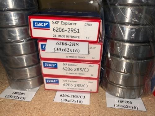 Подшипник 6206-2RS/C3 (30х62х16) SKF