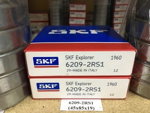 Подшипник 6209-2RS1 (45х85х19) SKF