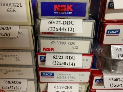 Подшипник 62/22-DDU (22х50х14) NSK