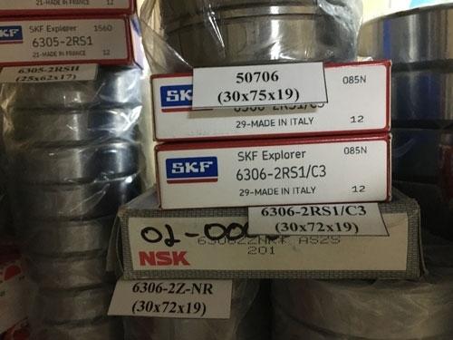 Подшипник 6306-2RS1/C3 (30х72х19) SKF