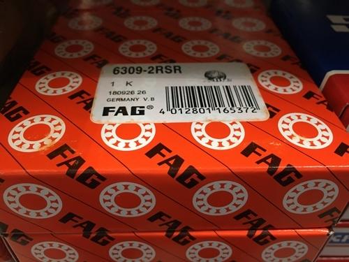 Подшипник 6309-2RS R FAG аналог 180309 размеры 45*100*25