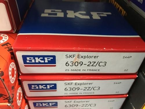 Подшипник 6309-2Z С3 SKF аналог 80309 размеры 45*100*25