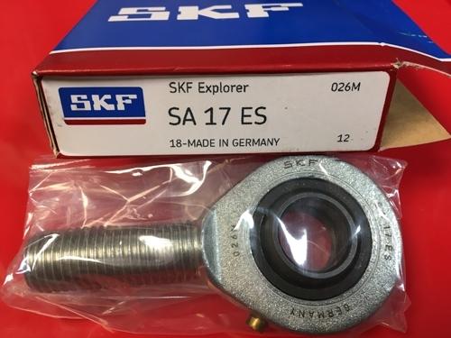 найти наконечник штока с наружной резьбой SA 17 ES SKF размеры 17х47х14/M16