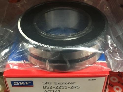 Подшипник BS2-2211-2RS/VT143 SKF размеры 55х100х31