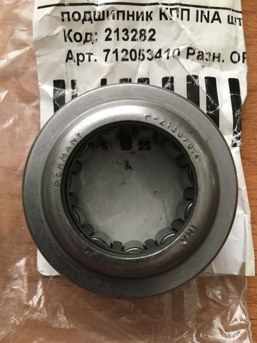Подшипник КПП F-213070.4 INA размер 25*44,5*22,75