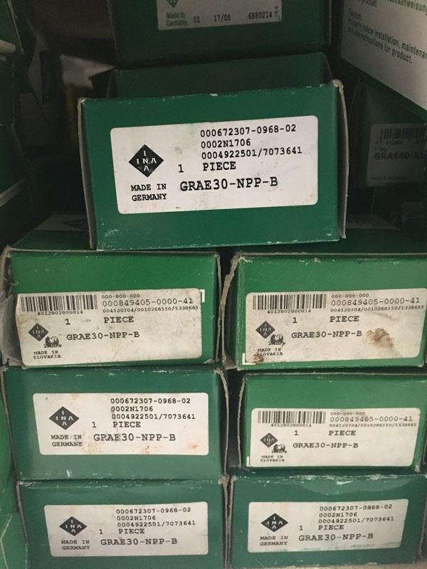 Подшипник GRAE30 NPP-B INA размеры 30x62x35,8 купить