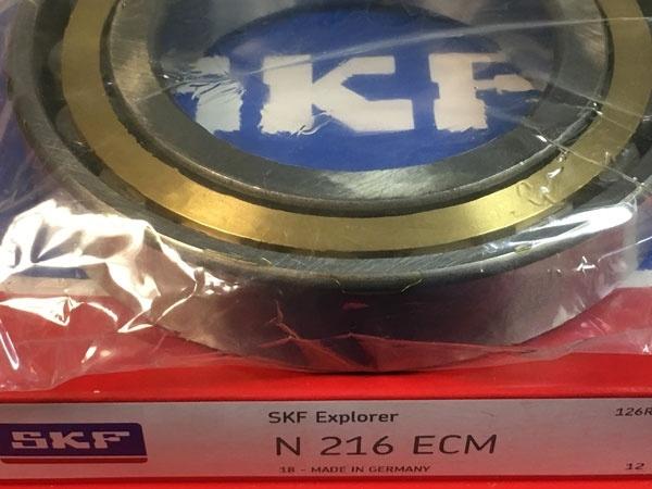 Подшипник N216 ECM SKF аналог 2216 Л размеры 80*140*26
