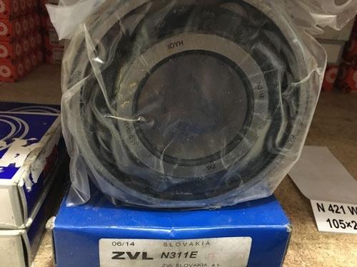 Подшипник N311 E ZVL аналог 2311 размеры 55x120x29