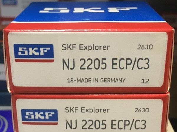 Подшипник NJ2205 ECP/C3 SKF аналог 42505 размеры 25*52*18