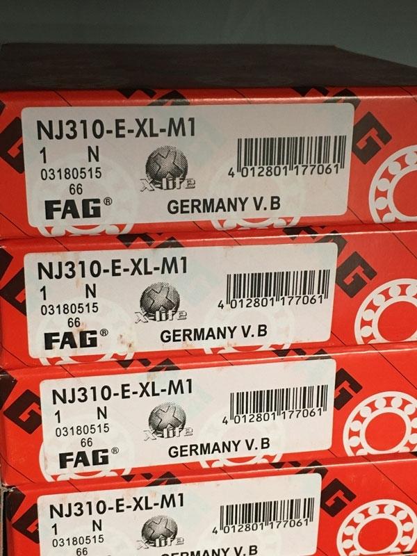 Подшипник NJ310 E-XL-M1 FAG аналог 42310 Л размеры 50*110*27