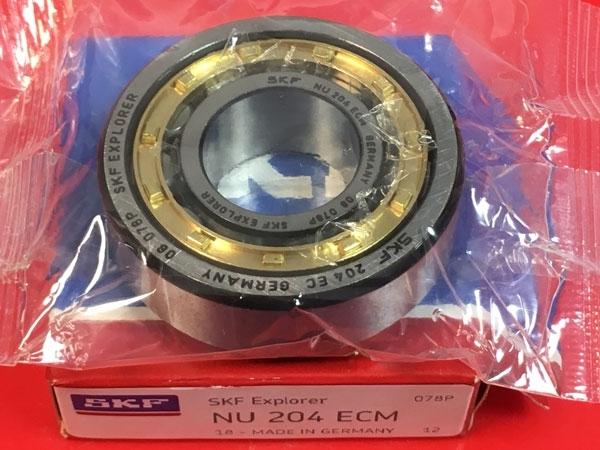 Подшипник NU204 ECM SKF аналог 32204 Л размеры 20x47x14