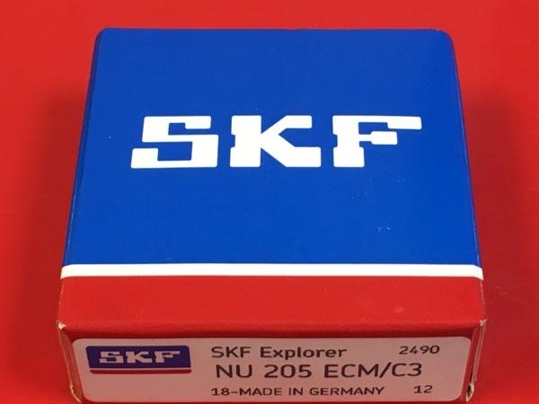 Подшипник NU205 ECM C3 SKF аналог 32205 Л размеры 25х52х15