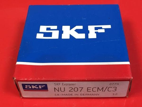 Подшипник NU207 ECM C3 SKF аналог 32207 Л размеры 35х72х17