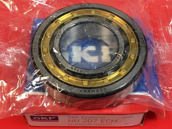 Подшипник NU207 ECM SKF аналог 32207 Л размеры 35x72x17