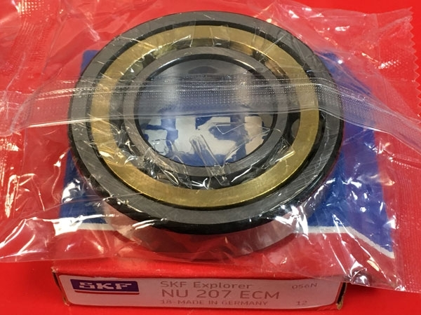 Подшипник NU207 ECM SKF аналог 32207 Л размеры 35*72*17