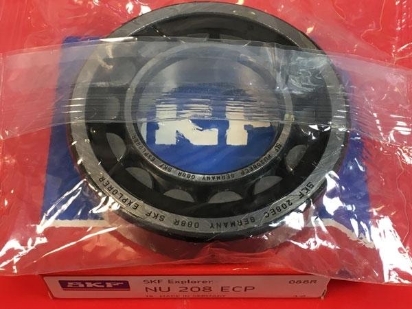 Подшипник NU208 ECP SKF аналог 32208 размеры 40x80x18