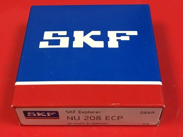 Подшипник NU208 ECP SKF аналог 32208 размеры 40х80х18