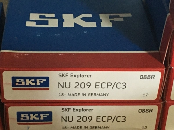 Подшипник NU209 ECP/C3 SKF аналог 32209 размеры 45*85*19
