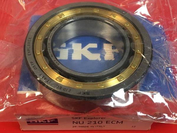 Подшипник NU210 ECM SKF аналог 32210 Л размеры 50x90x20