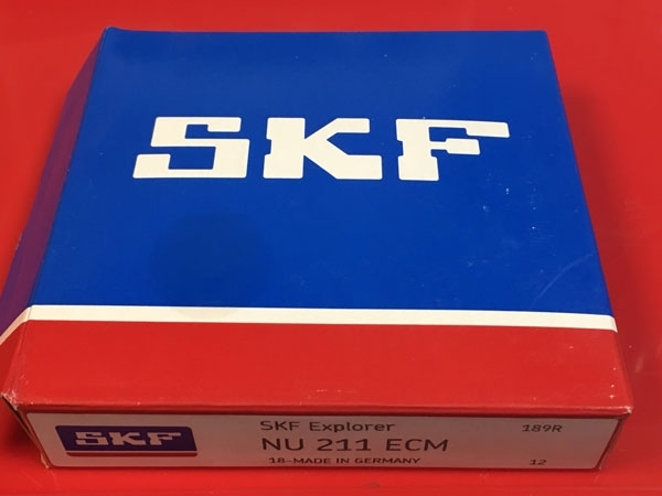 Подшипник NU211 ECM SKF аналог 32210 Л размеры 55х100х21