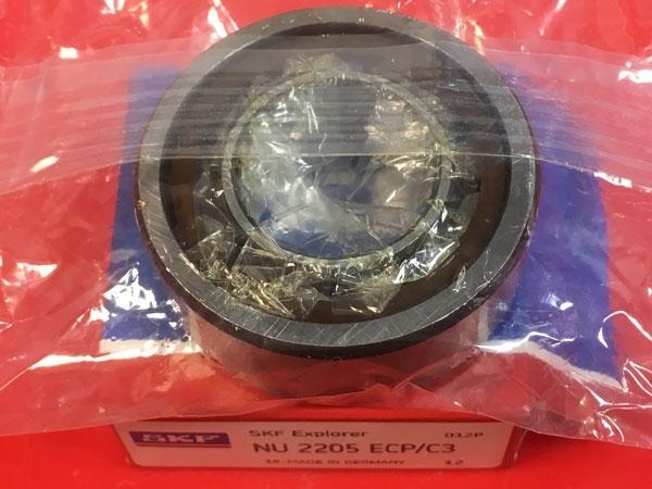 Подшипник NU2205 ECP/C3 SKF аналог 32505 размеры 25*52*18