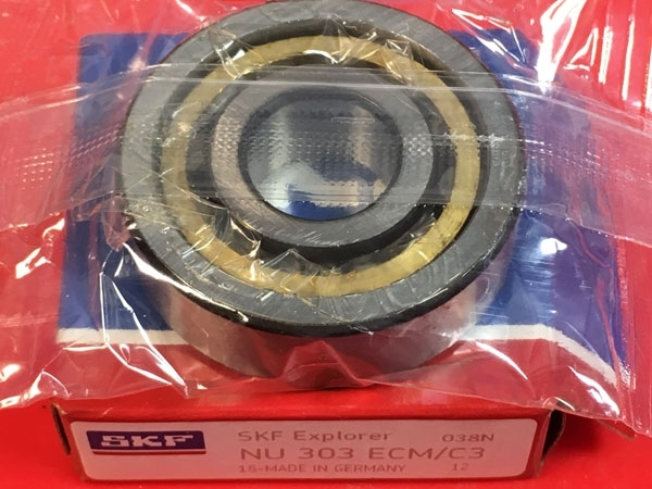 Подшипник NU303 ECM/C3 SKF аналог 32303 Л размеры 17*47*14